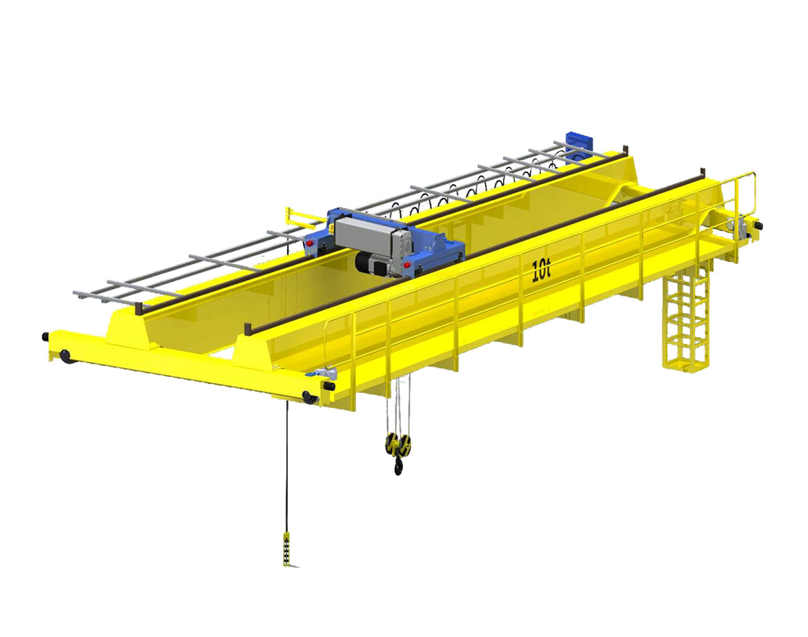 Obsolete Overhead Crane Parts : Hoist overhead crane double girder